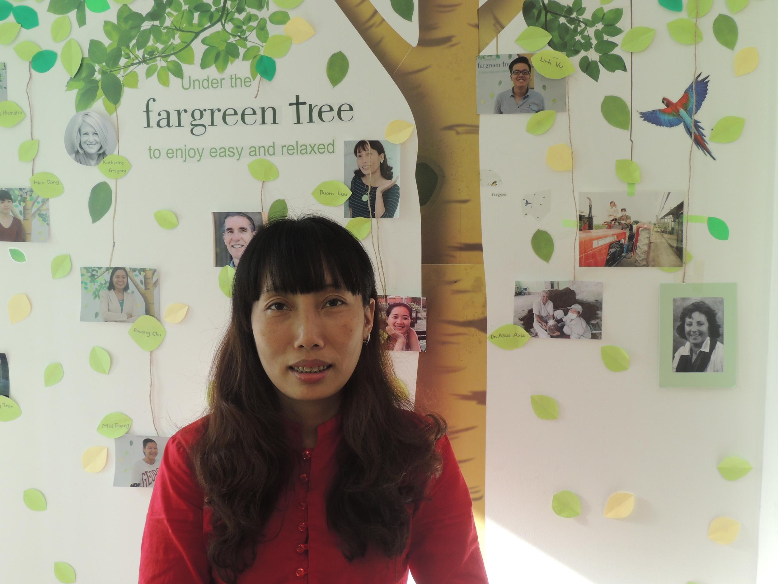 Lưu T. Đượm - Nhân viên Fargreen của năm 2015