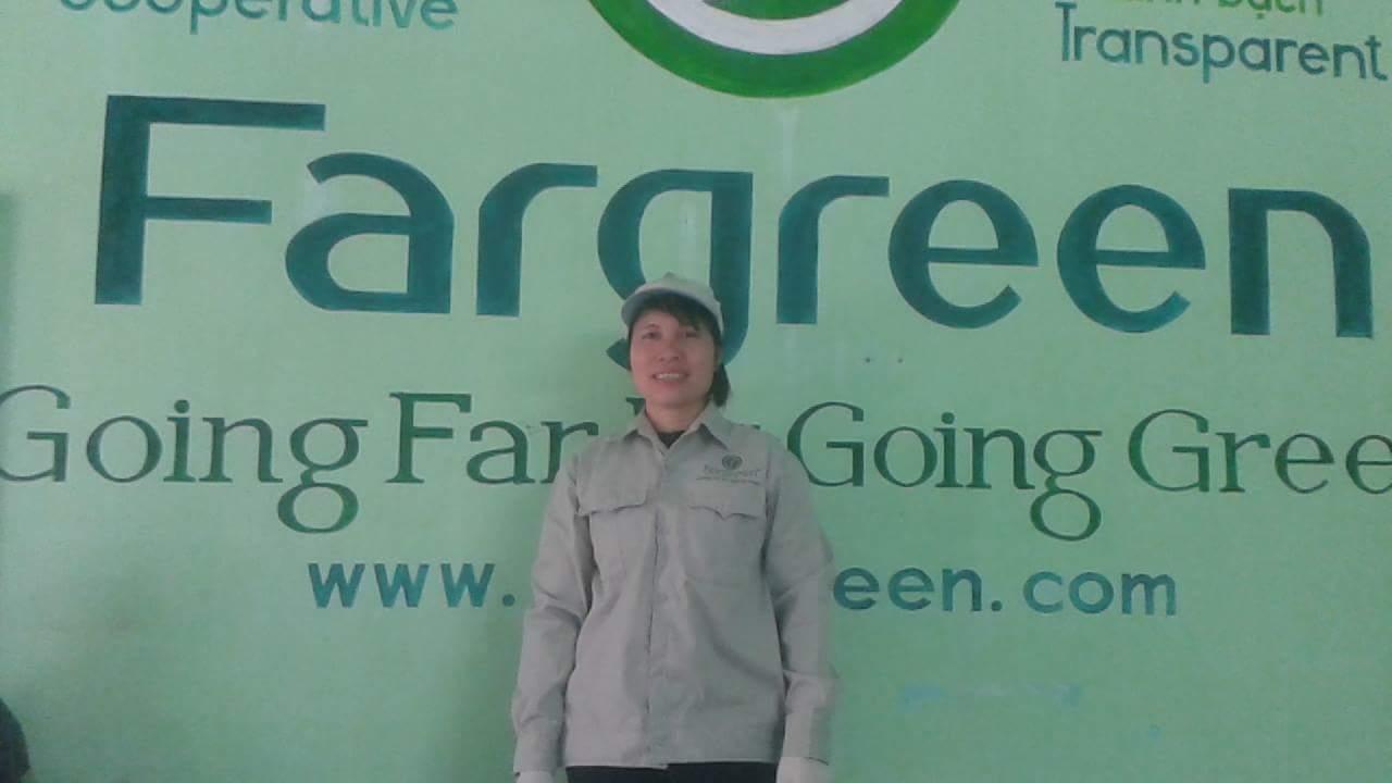 Trần Thị Hiền - Thành viên Mạng lưới Sản xuất Fargreen