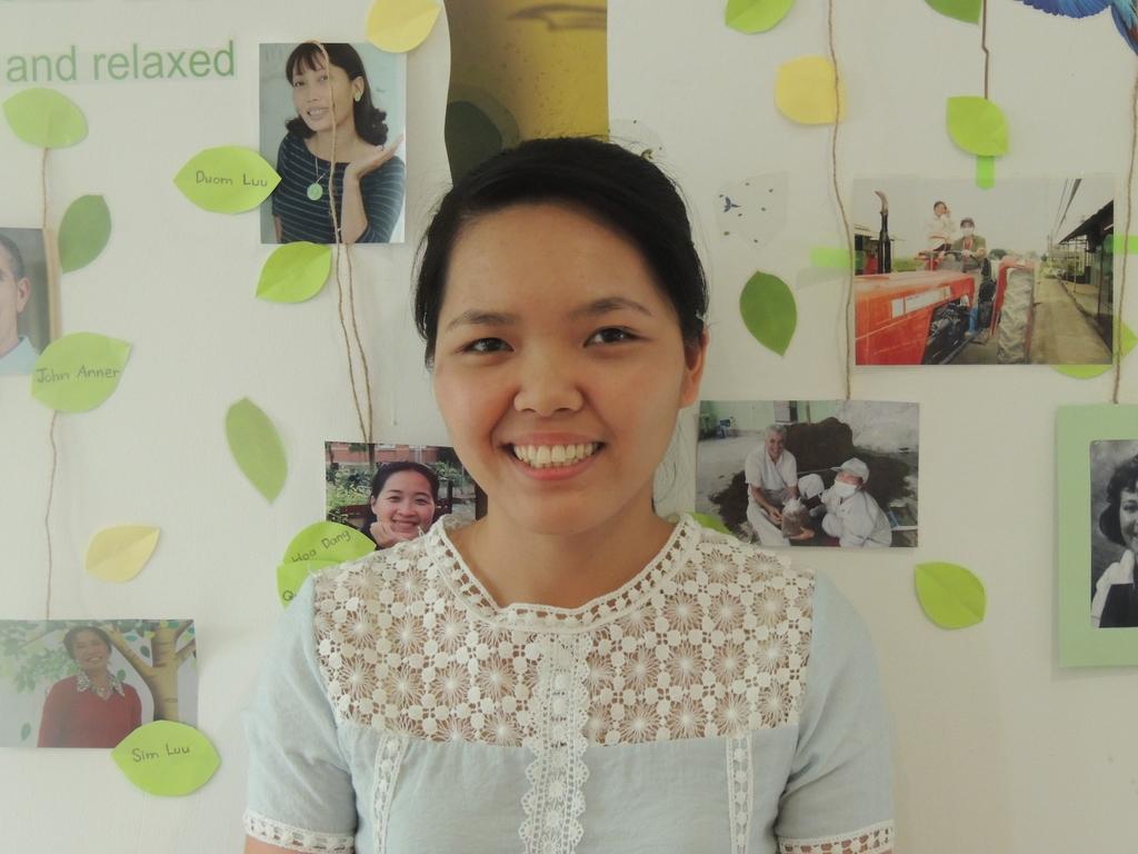 Đặng Thu Hiền, nhân viên của năm 2016