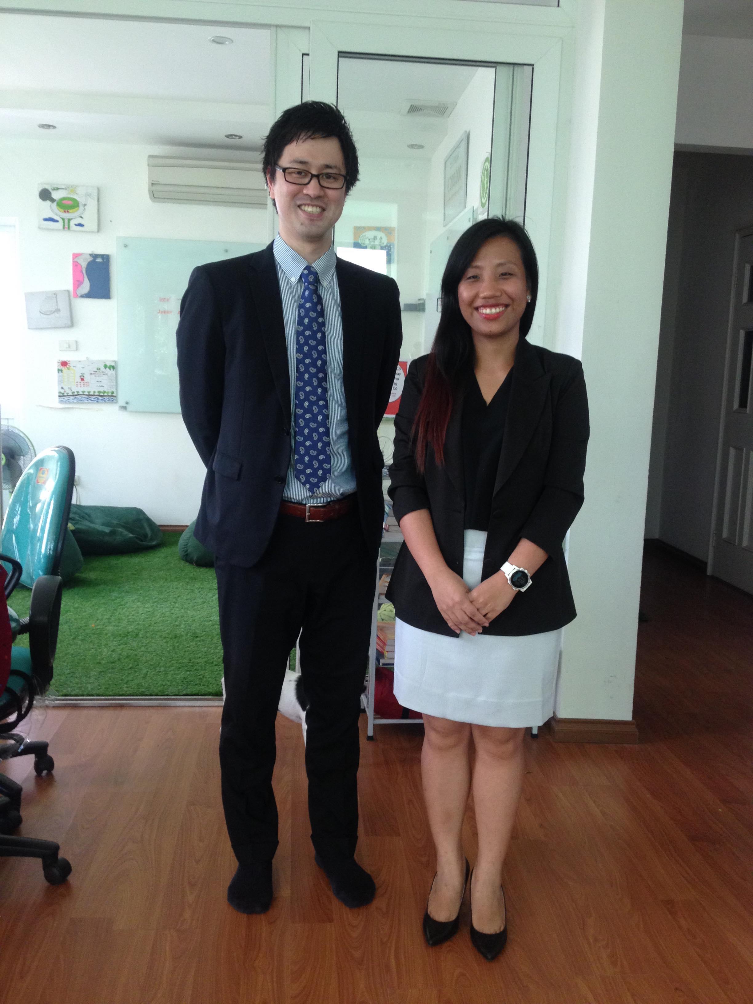 Rui and Trang