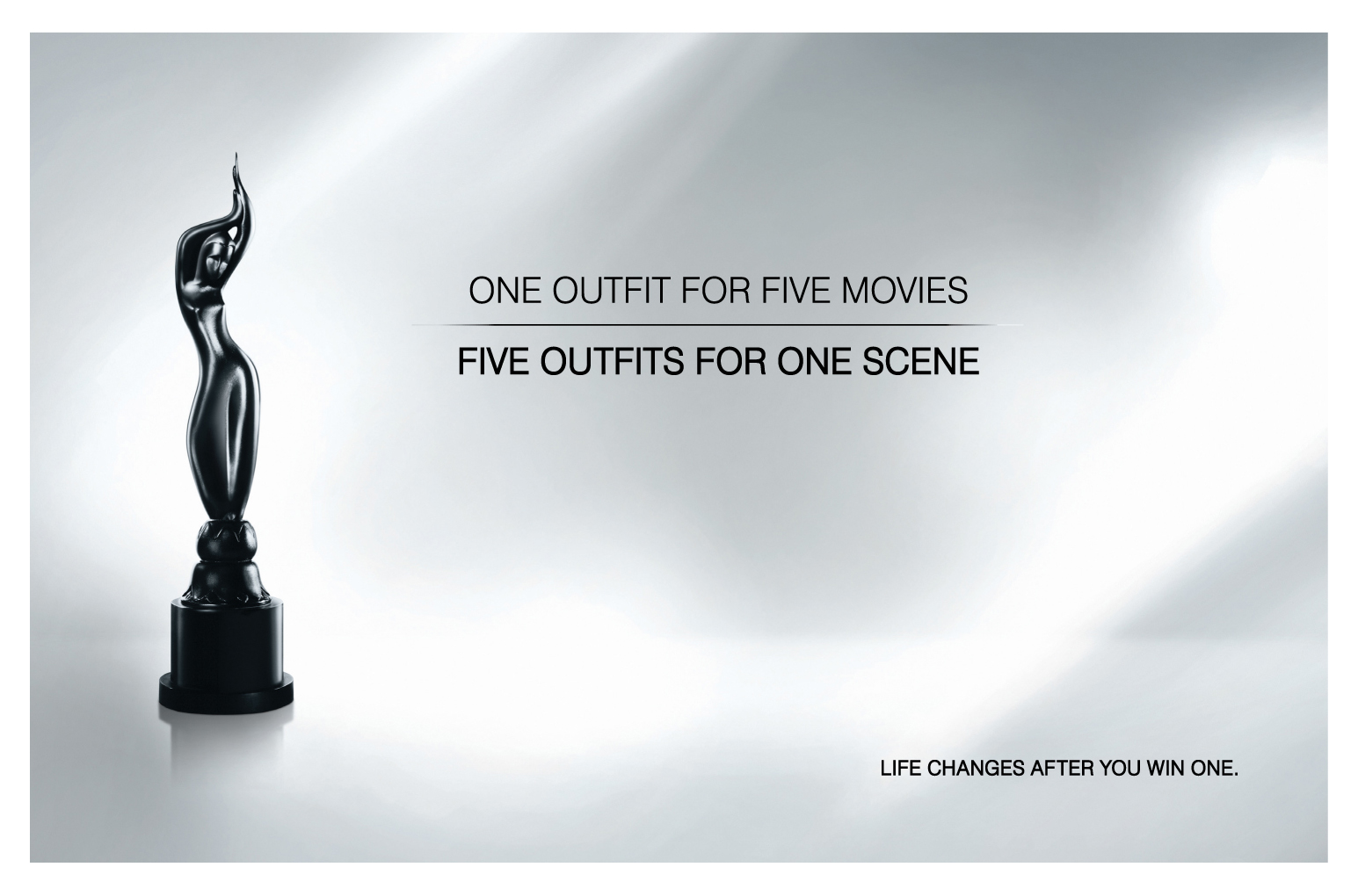Filmfare Awards South print and outdoor campaign by Vinod Sudheer