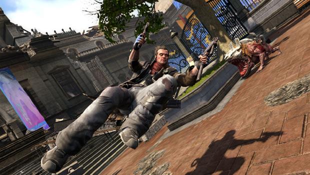 Chiamate Max Payne! Mi strappo una gamba e gliela infilo in gola.