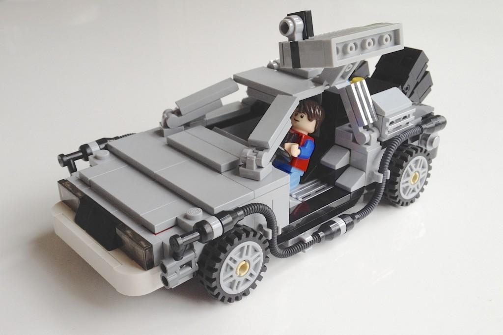 La DeLorean in un'immagine di repertorio.