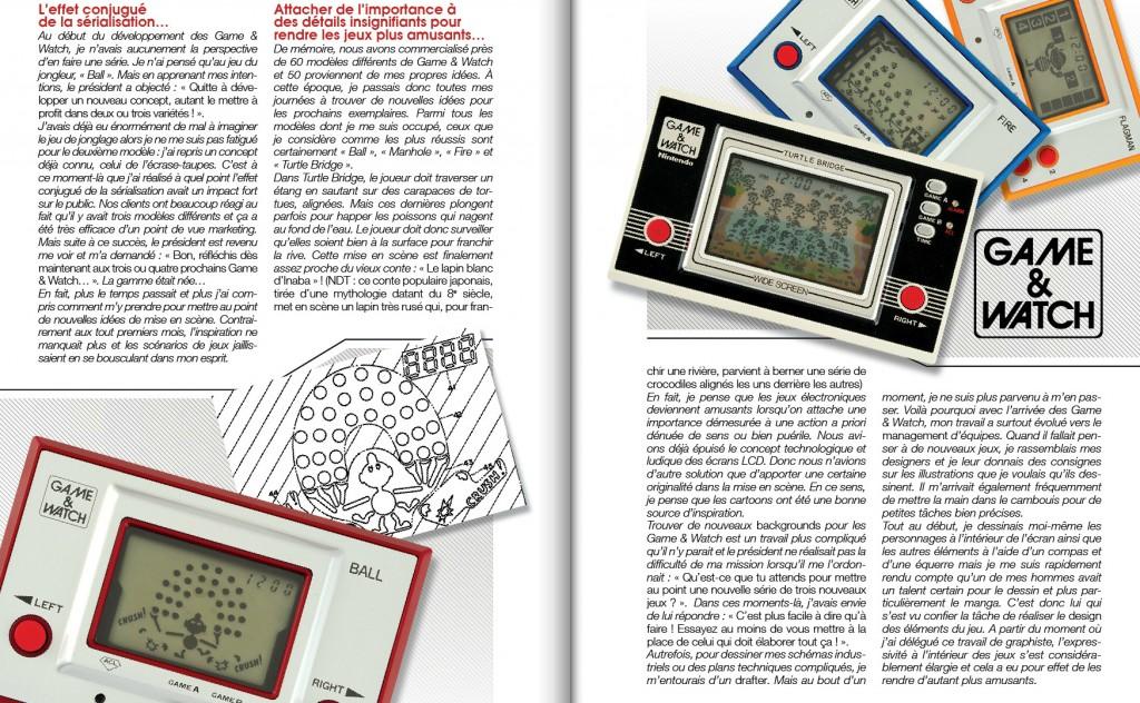 I Game & Watch furono tra l'altro strumentali per la crescita e la reinvenzione della tecnologia LCD.