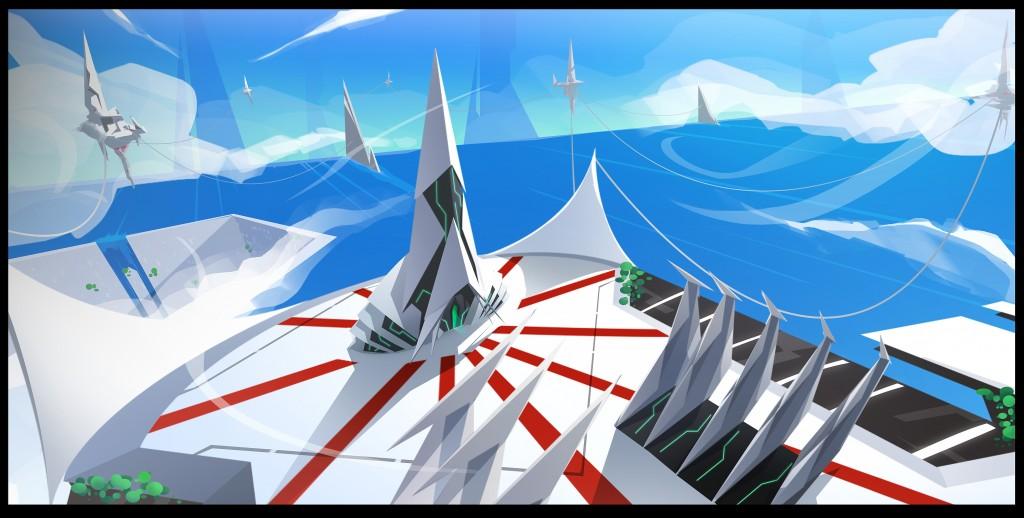 Planet Tiracas - Vokh Paradise - Striking Geometry 2