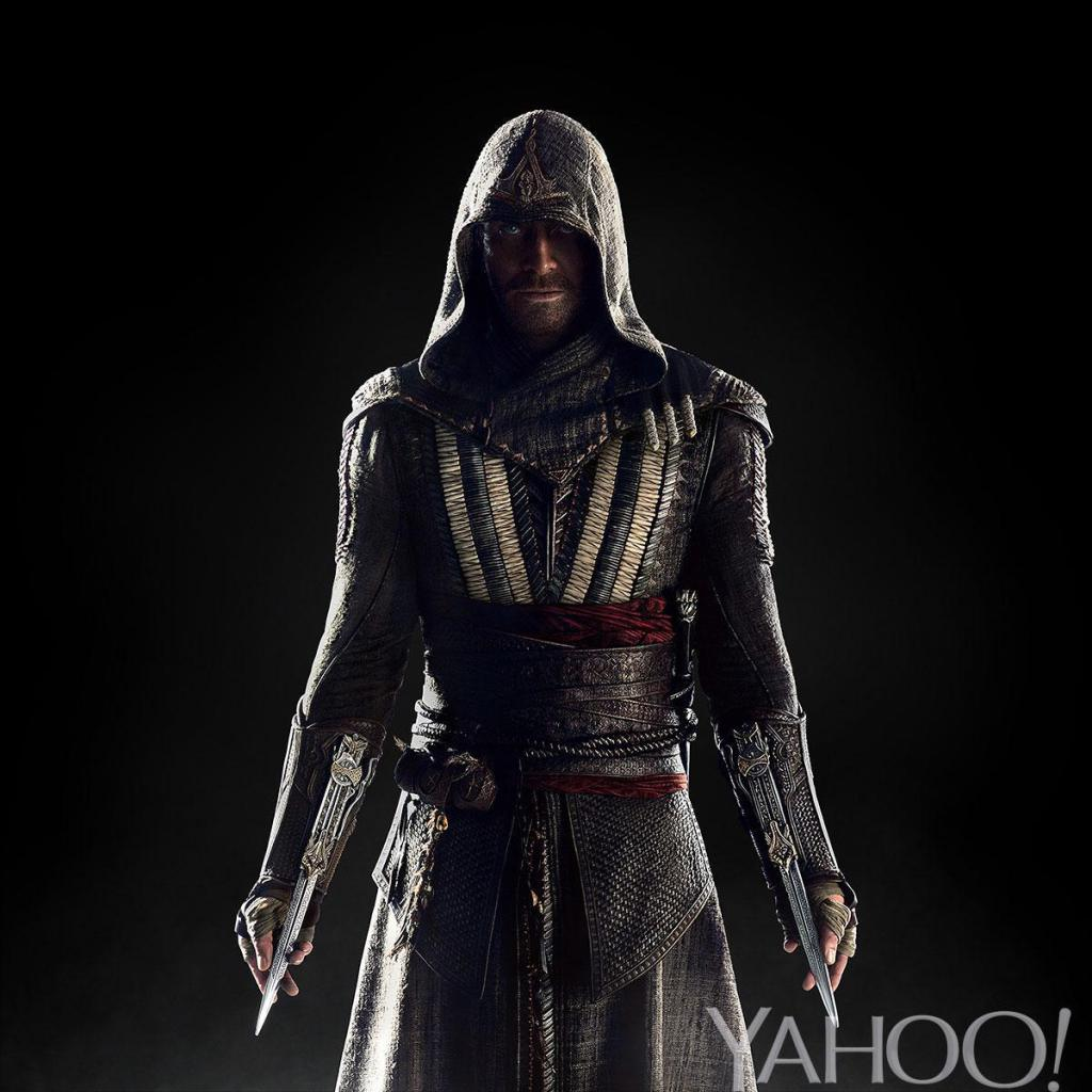 Michael Fassbender nei panni di Callum Lynch nel film di Assassin's Creed.