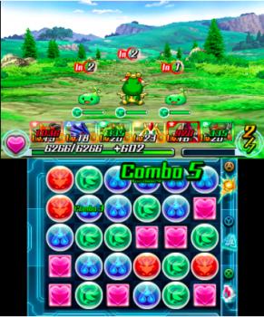 P&DZ si gioca sullo schermo inferiore e tramite pennino, questo significa che giocare senza un appoggio è piuttosto scomodo.