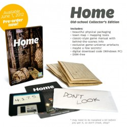 """Home poteva essere prenotato in una edizione """"old school"""" con copia fisica, confezione e gadget vari. Il prezzo? 20 dollari. Ma tanto è già esaurita."""