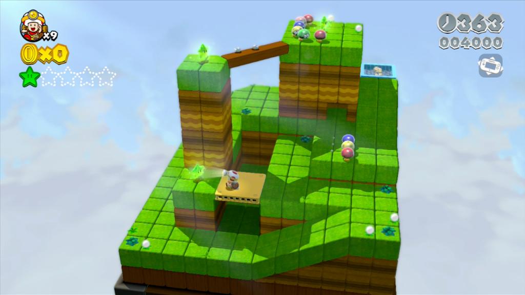 Quella di Toad Esploratore è una bella idea che, se meglio approfondita, potrebbe magari meritarsi anche un giochino da zona eShop.
