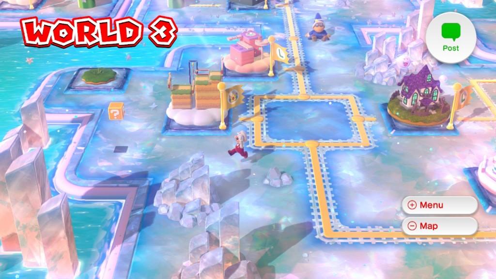 La mappa di gioco permette di muoversi liberamente, anche per cercare qualche segretino (poco) nascosto.