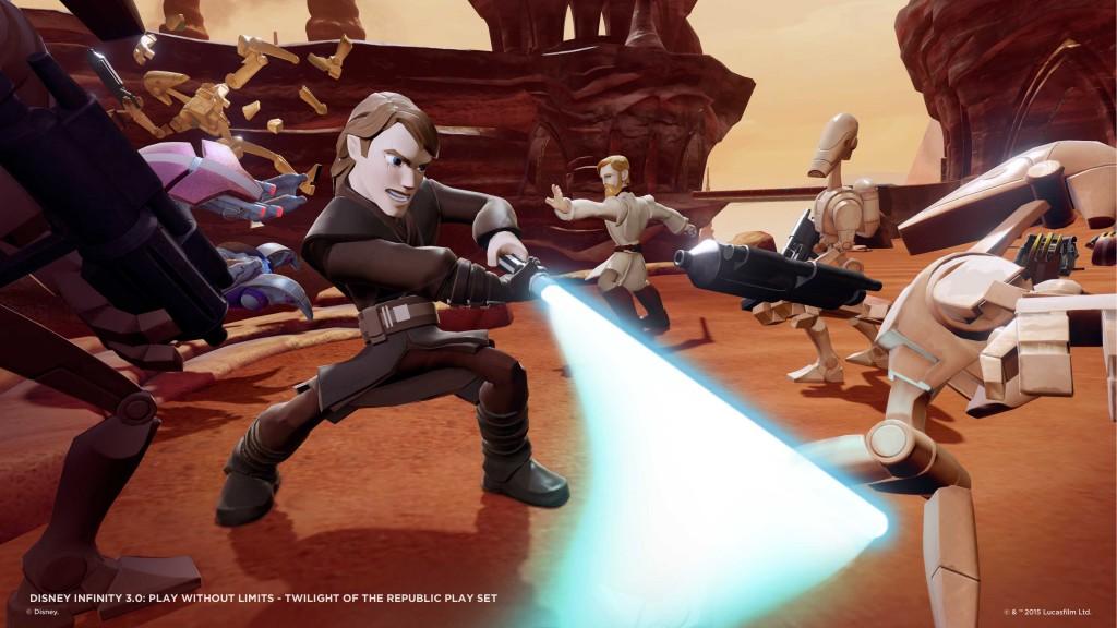 """Anakin è piuttosto """"cattivo"""" nel modo in cui combatte ed è molto divertente da usare."""