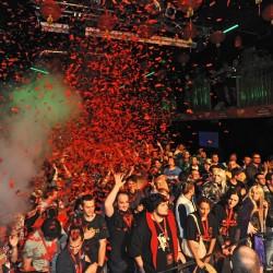 Uno scatto dall'evento milanese per il lancio di Pandaria.