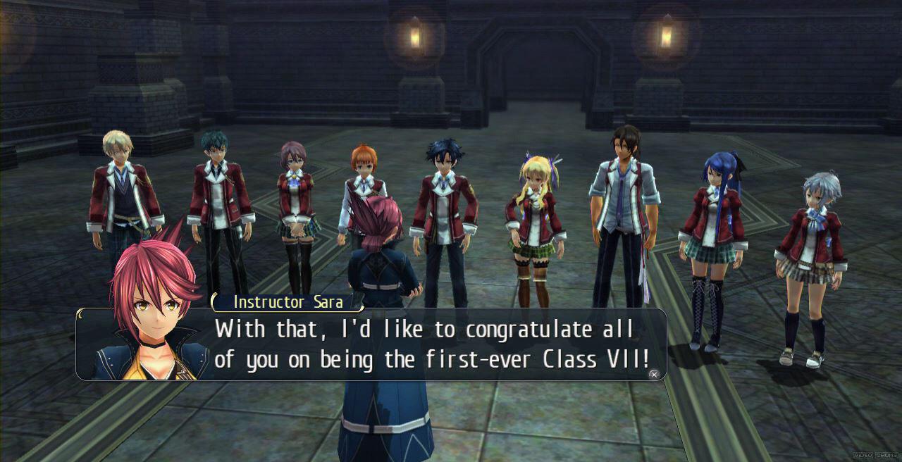 Ecco la beneamata Classe VII appena formata.
