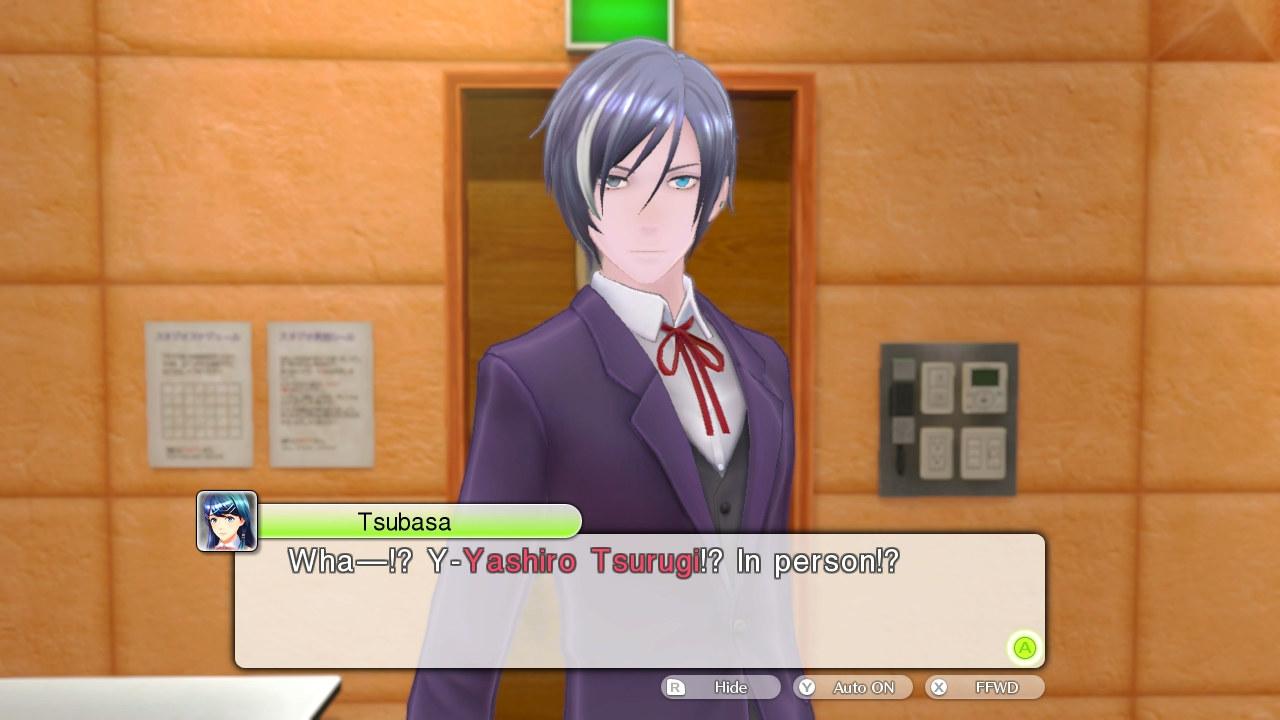 Ah, i testi sono in inglese… il parlato in giapponese.