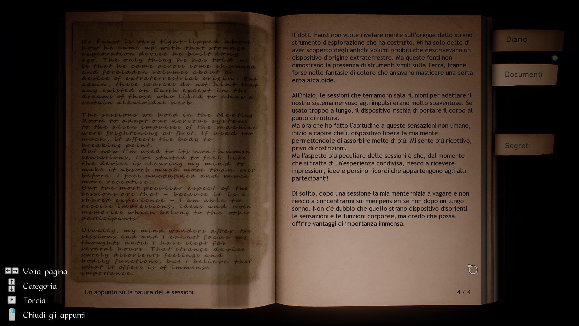 Il testo del gioco è completamente localizzato in italiano.