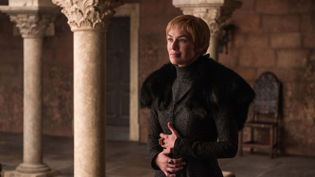 Anche nei momenti di apparente vulnerabilità, Cersei riesce ad incutere timore.