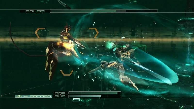 Tripudio di effetti speciali e luci: ogni scontro in  Z.O.E.  è una gioia per gli occhi, a patto di riuscire a seguire quel che accade sullo schermo.