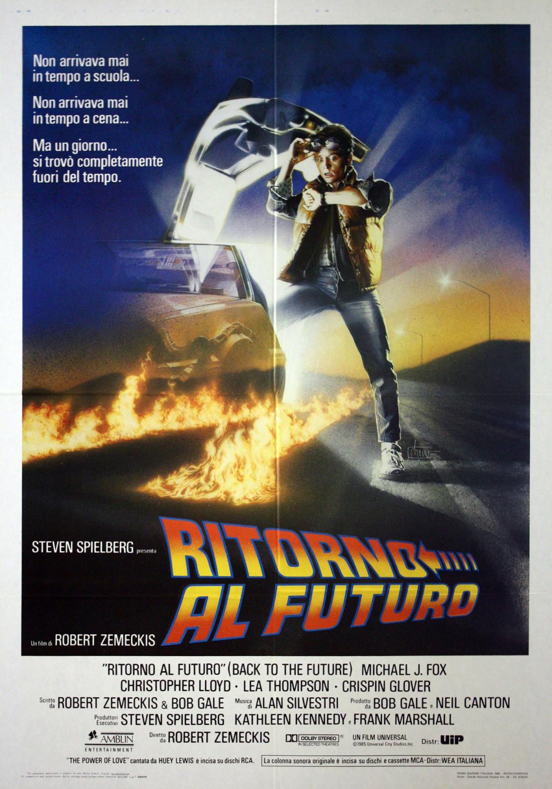 Il poster originale del film, lo stesso che oggi tengo appeso in salotto.