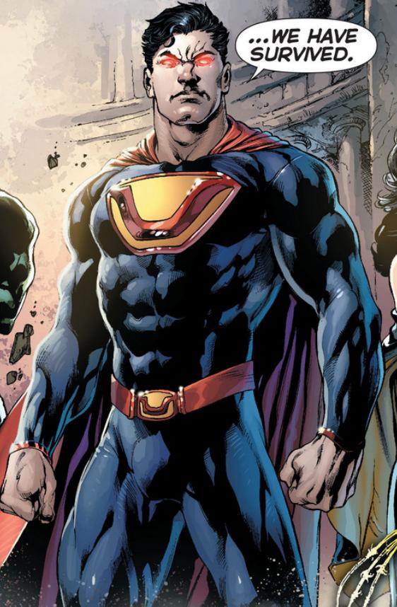 - Un aspetto piuttosto bizzarro: Ultraman è una versione malvagia di Superman, che vive su un'altra versione della Terra. È il capo di un gruppo eterogeneo di simili super-eroi