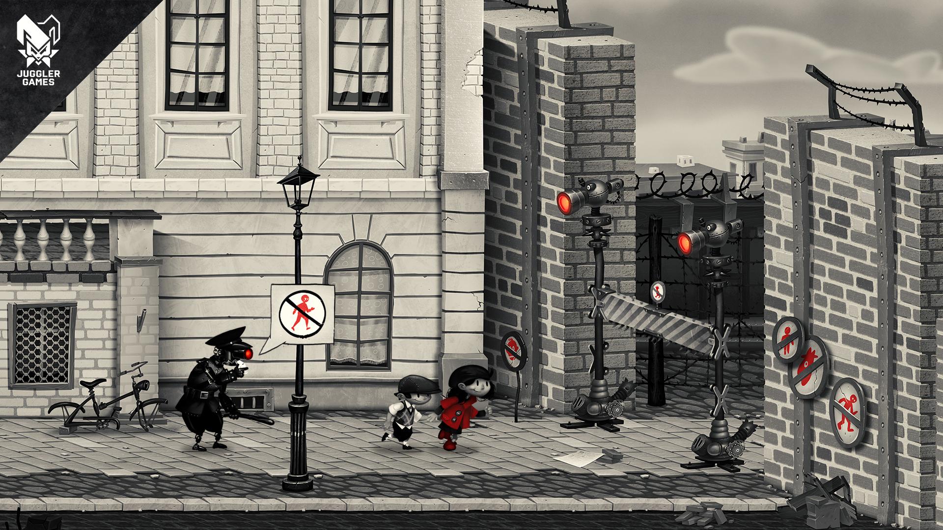 Nonostante Juggler Games abbia preferito abbracciare una dimensione narrativa universale, nel gioco i riferimenti al Nazismo sono più che evidenti.