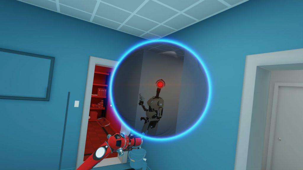 I robot sgamano il protagonista pure attraverso il portale, quindi occhio!