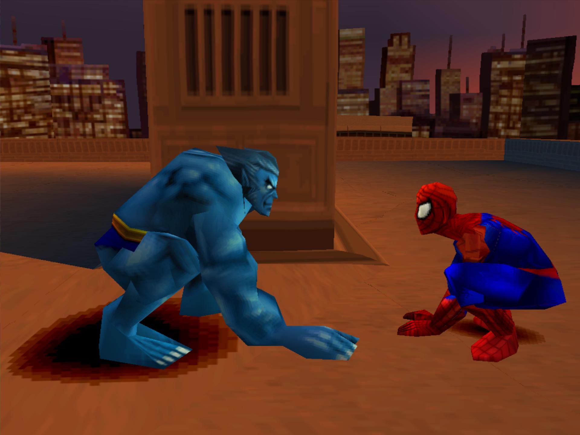 Uno dei pochi 'amici' presenti nel gioco era lo scimmione degli X-Men, che fondamentalmente compare all'inizio per dirti quattro cose e senza farsi vedere mai più.
