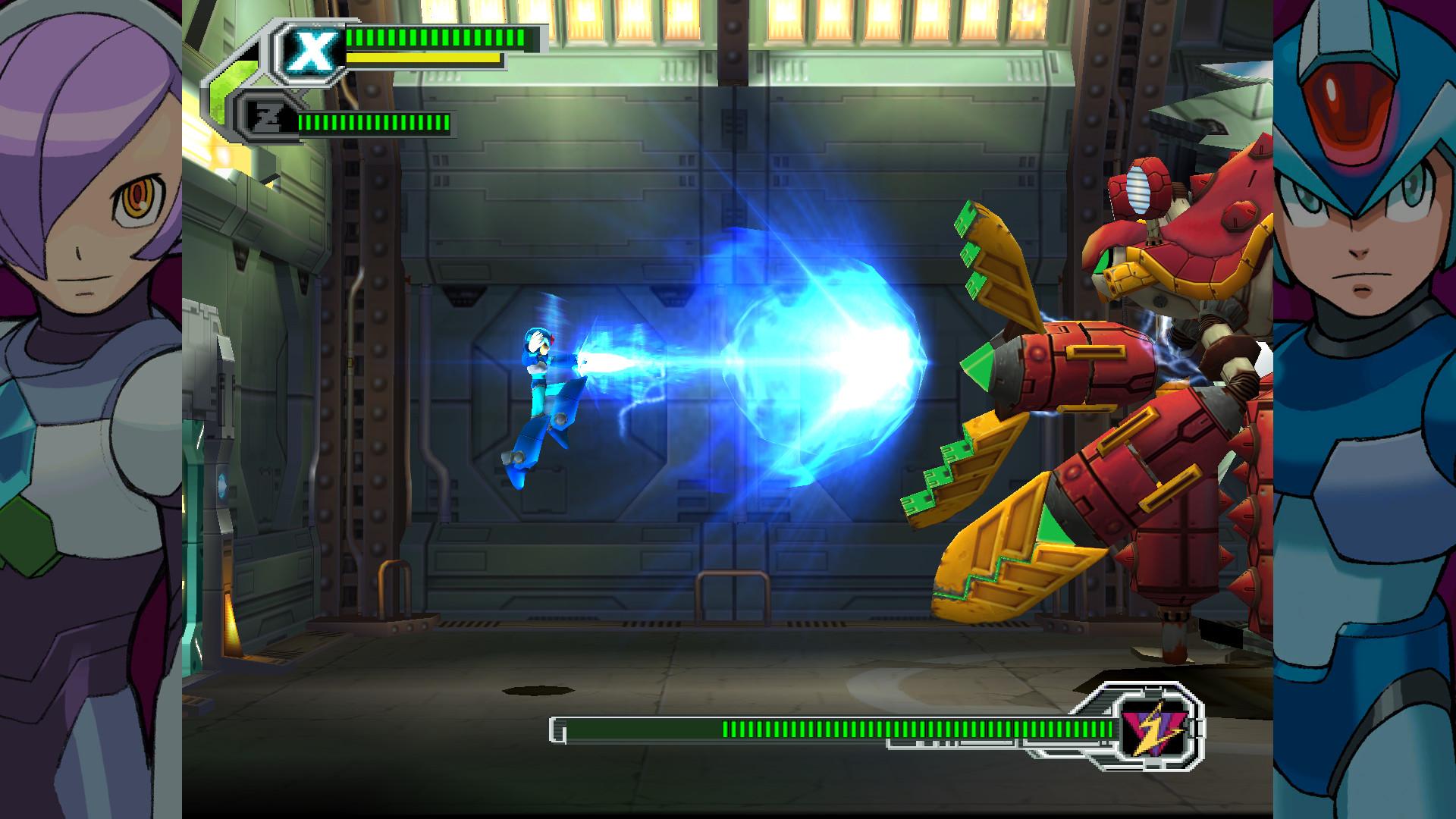 E qui si è chiuso il cerchio, fra i freddi poligoni di  Mega Man X 8 .