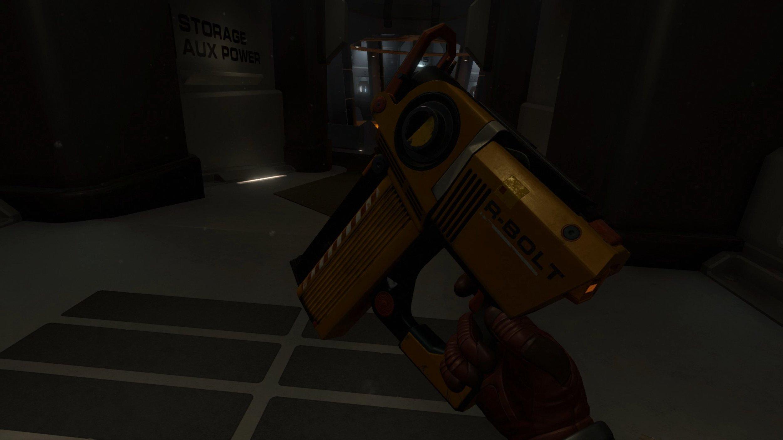 La seconda pistola del gioco. Rateo di fuoco di una gatling gun e stessa precisione di una fonda fatta col bastoncino del Doctor Strabik.
