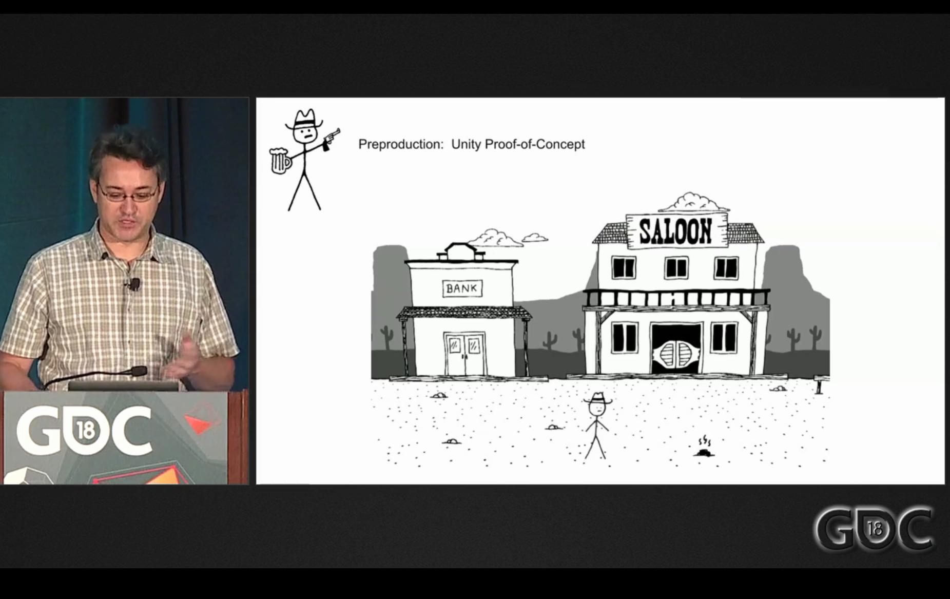 Jack Johnson mostra uno dei primissimi prototipi del gioco, sostanzialmente identico alla versione finale.
