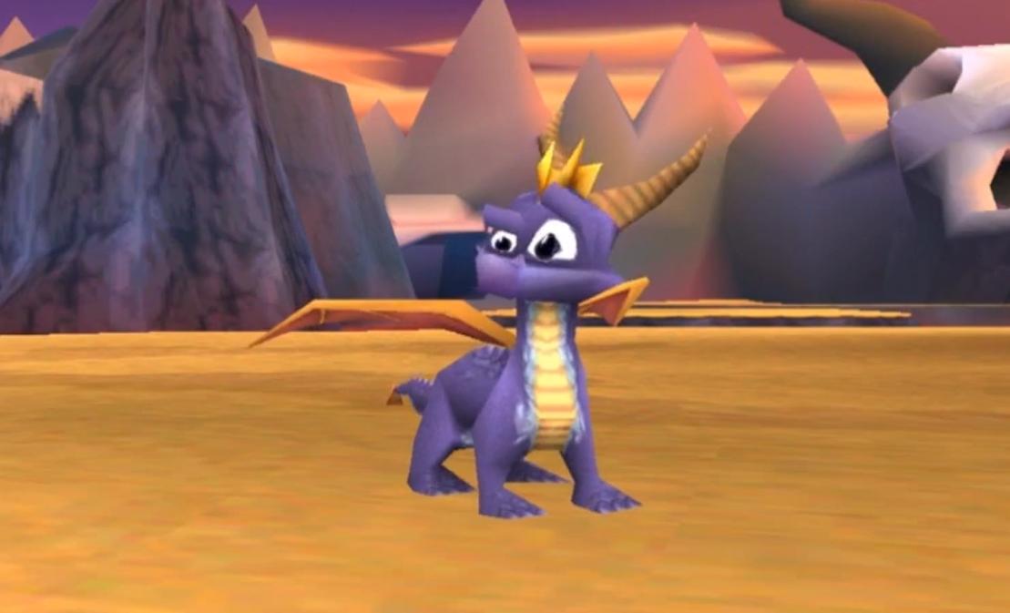 Pochissimi poligoni, ma tutti messi al posto giusto per rendere Spyro espressivo