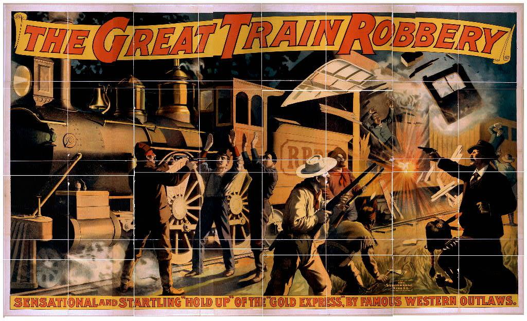 """In realtà,  Iron Horse  si riferisce fin dal titolo a  La grande rapina al treno , un film del 1903 considerato uno fra i più seminali della storia del cinema, quello più seminale.  Dai Ressya Gotou , il titolo giapponese del gioco, significa in effetti """"La grande rapina al treno"""". E questo poster promozionale del film è praticamente identico all'introduzione del gioco!"""