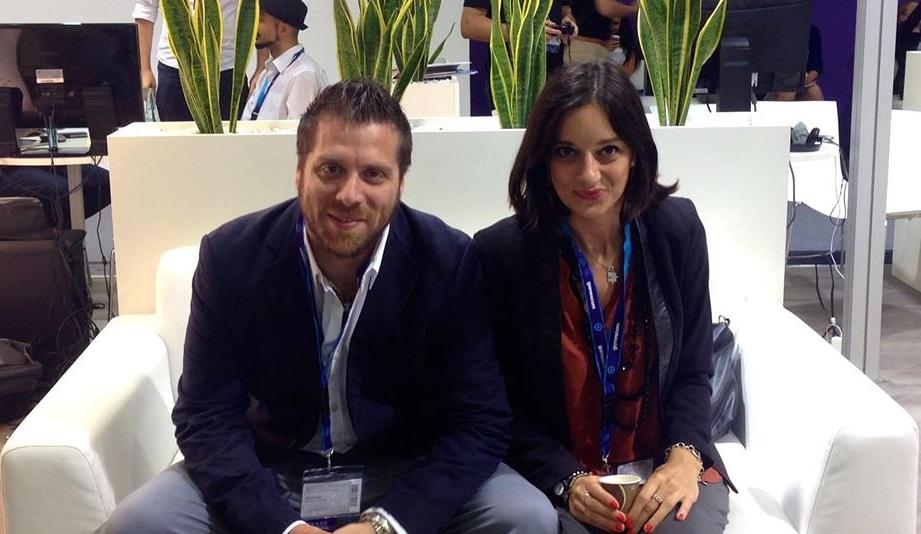 Alberto Belli e Gilulia Carlotta Zamboni di Gamera Interactive.
