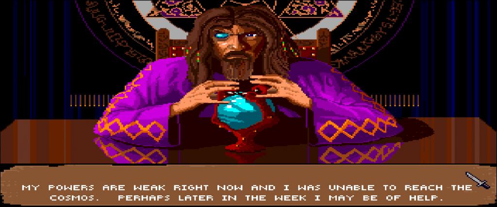 Il gioco è ricco di cliché ma, per essere stato pubblicato nel 1991, li interpretava nel miglior modo possibile.