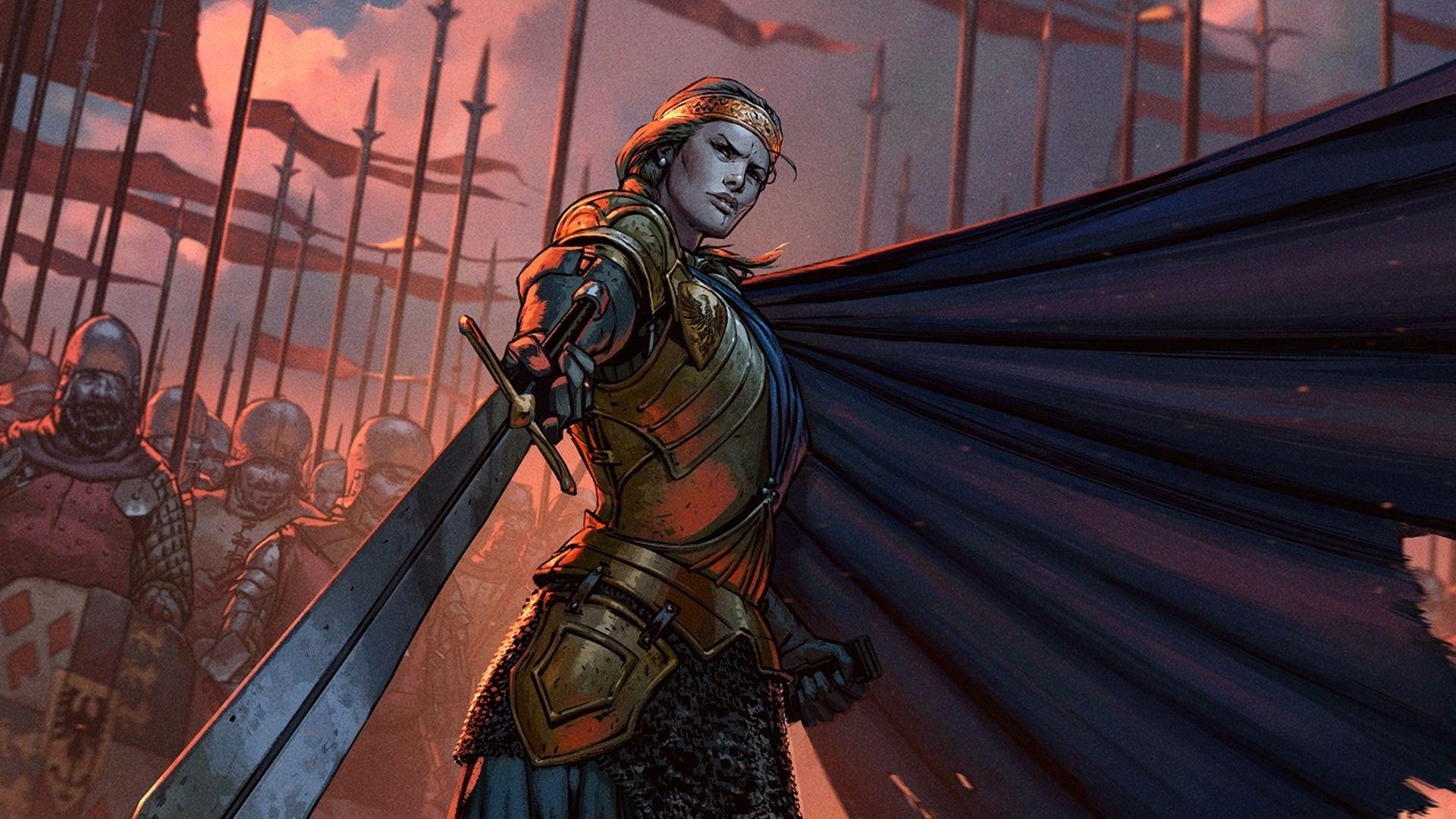 Meve di Lyria è protagonista per buona parte del gioco.