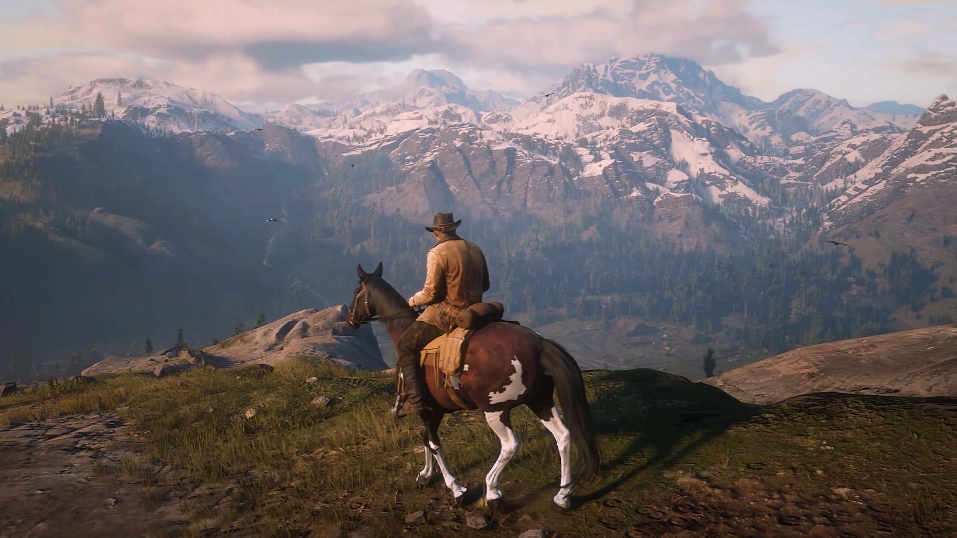 È anche per colpi d'occhio del genere che vuoi spostarti sempre a cavallo.