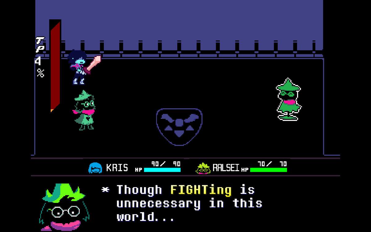 L'interfaccia di combattimento è stata migliorata e la visuale è stata spostata, per accomodare un party composto da più di un giocatore.