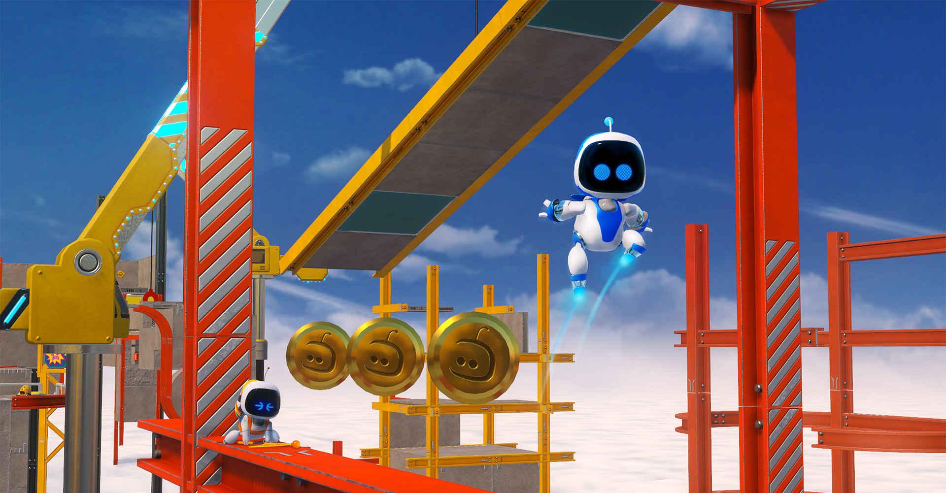 Pixar e Nintendo si incrociano spesso, nei riferimenti di  ASTRO BOT Rescue Mission .
