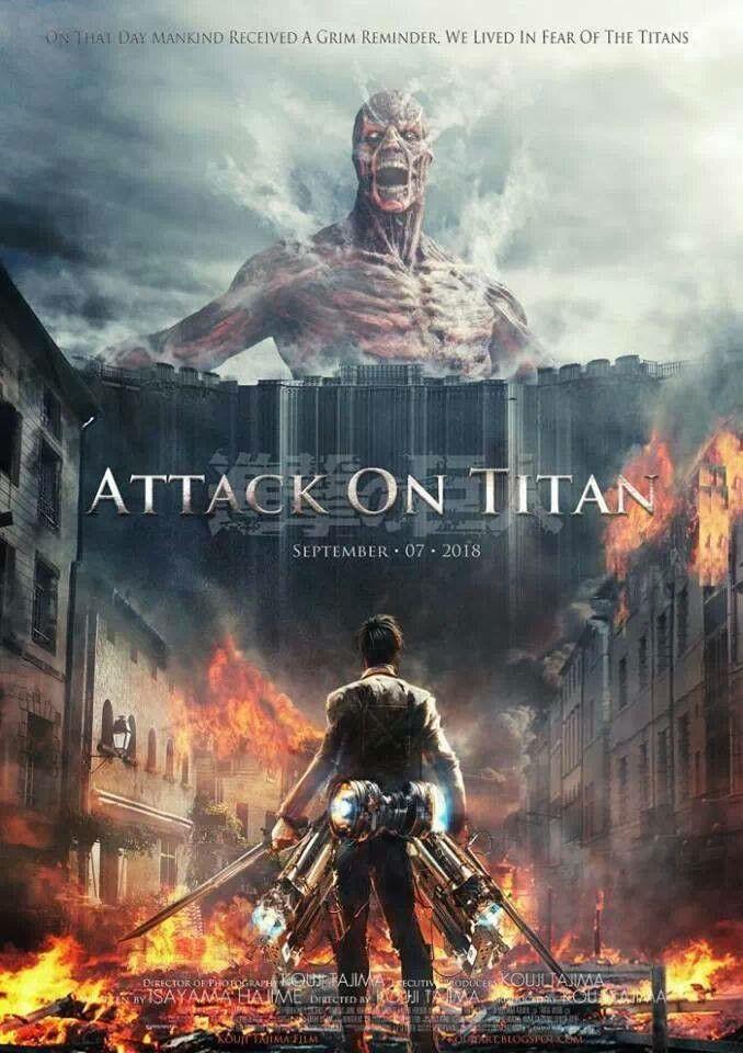- Anche Attack on Titan non è sfuggito alla temibile messa in LIVE ACTION. Anche in questo caso, il risultato è stato abbastanza penoso per diversi motivi: le modifiche alla storia (alcune particolarmente stupide), gli attori utilizzati (troppo vecchi), i discutibili effetti speciali e, infine, la necessità di chiudere una storia che è ancora in corso. I due film: Attack on Titan - Part 1 e Attack on Titan - Part 2: End of The World, hanno deluso ampiamente i fan.Il 29 Ottobre 2017, Warner Bros ha comprato i diritti di Attack on Titan. Il regista Andy Musichetti ha già confermato di aver iniziato un lento lavoro di preproduzione e adattamento. Speriamo bene.