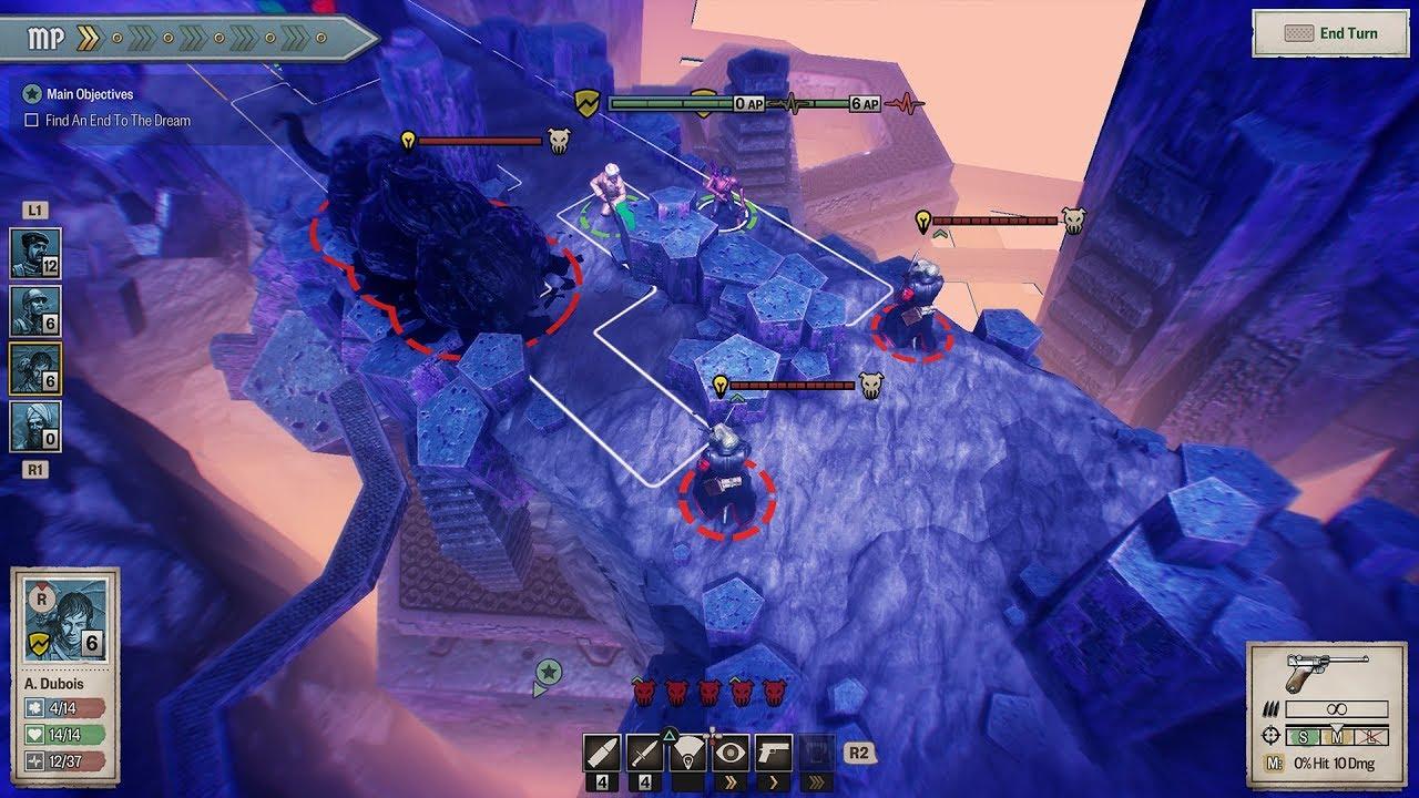 I combattimenti contro i Shoggoth si svolgono spesso in ambientazioni dal piglio onirico.