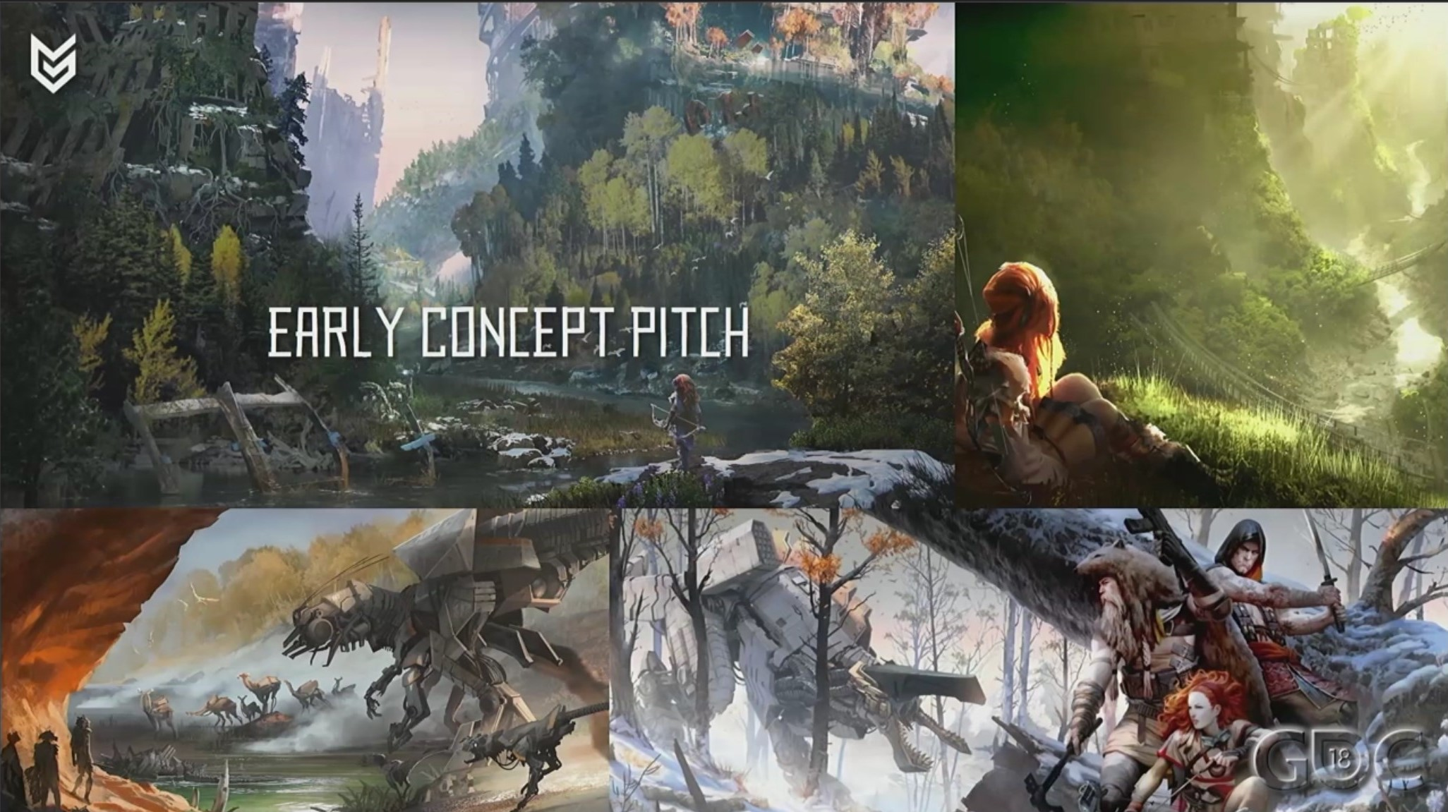 Le primissime concept art per  Horizon: Zero Dawn .
