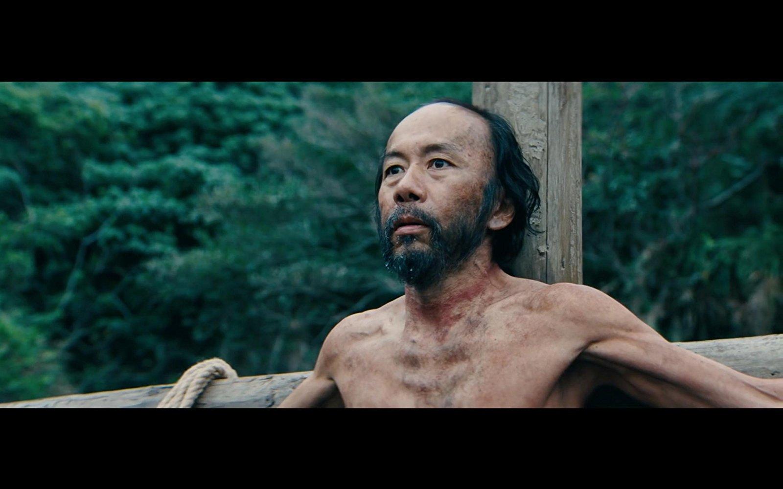 Shin'ya Tsukamoto in  Silence , di Martin Scorsese.