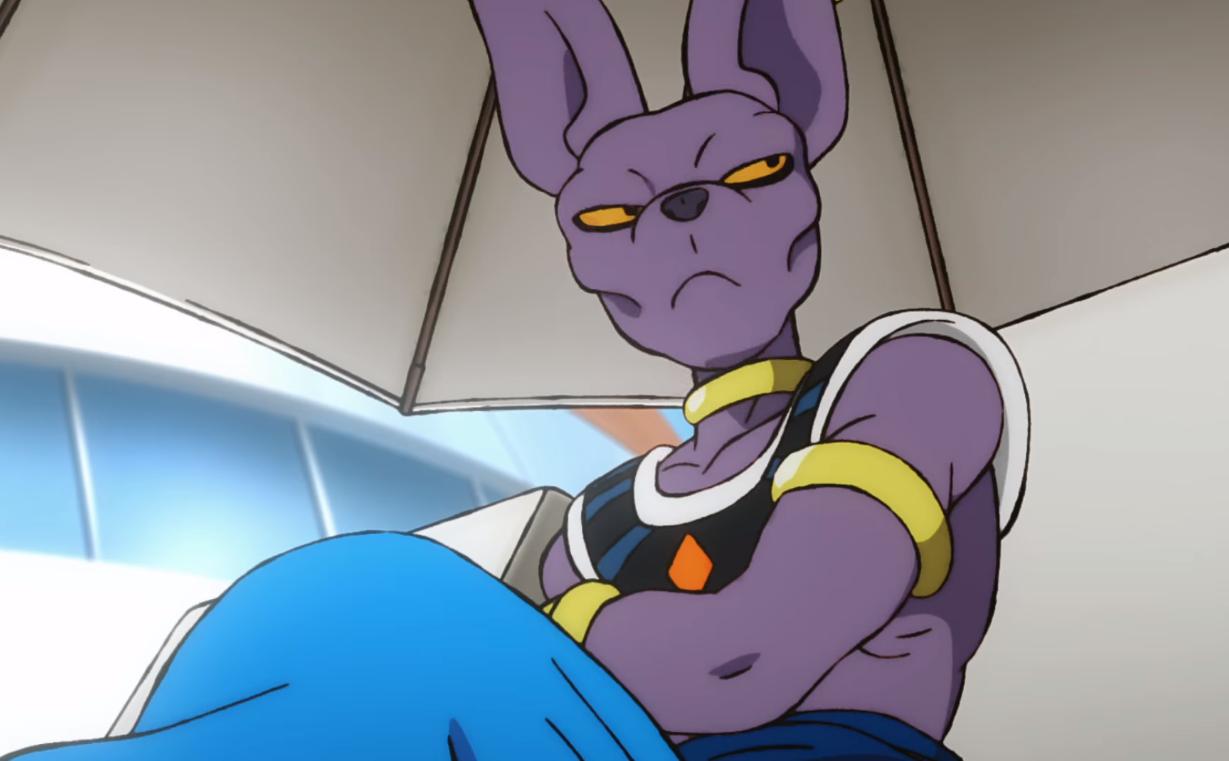 Bills è forse il personaggio più riuscito tra quelli del nuovo corso di  Dragon Ball .