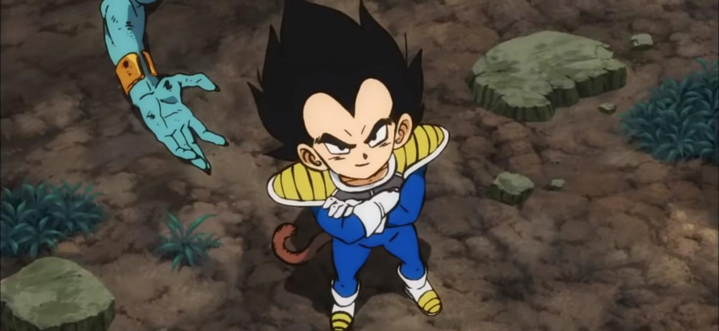 Già da bambino, Vegeta correva per il titolo di miglior personaggio della serie.