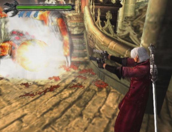 La prima incarnazione di Dante, su PlayStation 2.