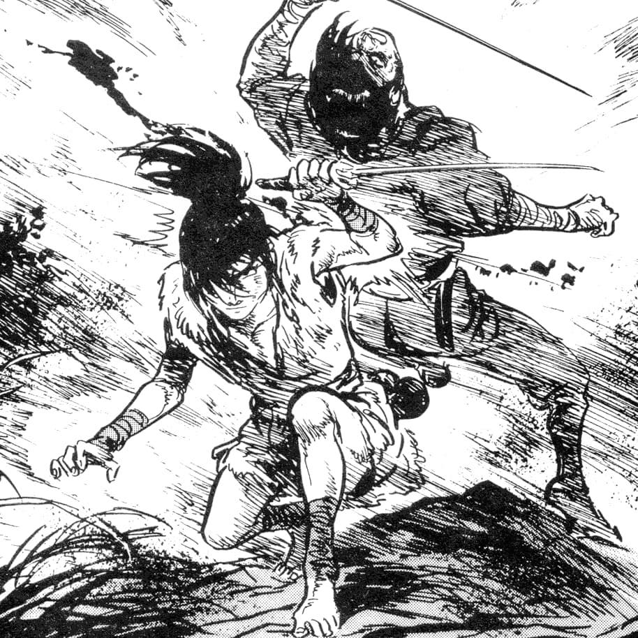 Kamui, il ninja protagonista dell'omonimo manga di Sanpei Shirato, è una tra le fonti alla base di  Strider .