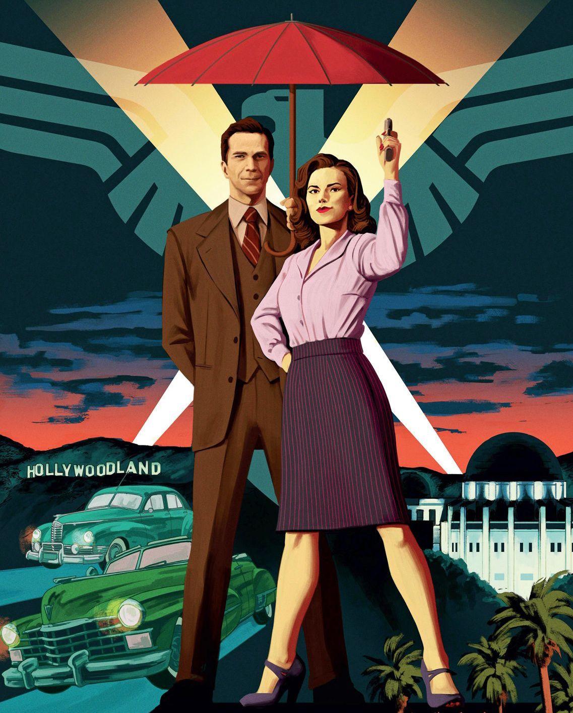 Agevolo un poster figo di  Agent Carter .