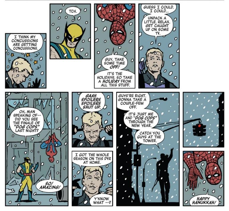 Chissà se Clint riuscirà ad evitare gli spoiler de  Il trono di spade …