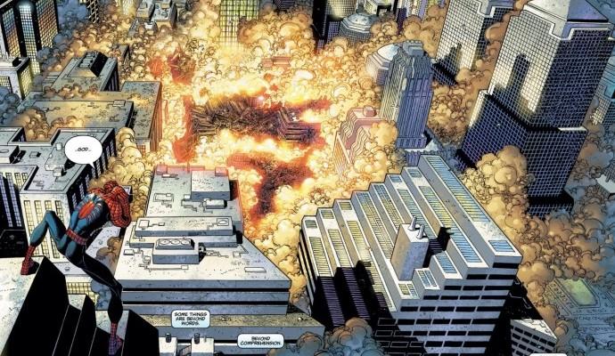 Fu un momento in cui il mondo si fermò. Prima che iniziassero le speculazioni, le guerre, i complottismi vari ed eventuali, Marvel si schierò senza un filo di retorica o demagogia, prima di tutto attraverso i suoi fumetti, che improvvisamente sciolsero i ruoli di cattivi e buoni, quasi a voler dire, in extrema ratio, che fino ad adesso i nostri cattivi erano piuttosto cartonati. Sapevamo, del resto, che il mondo sarebbe cambiato, da quel maledetto 11 settembre.