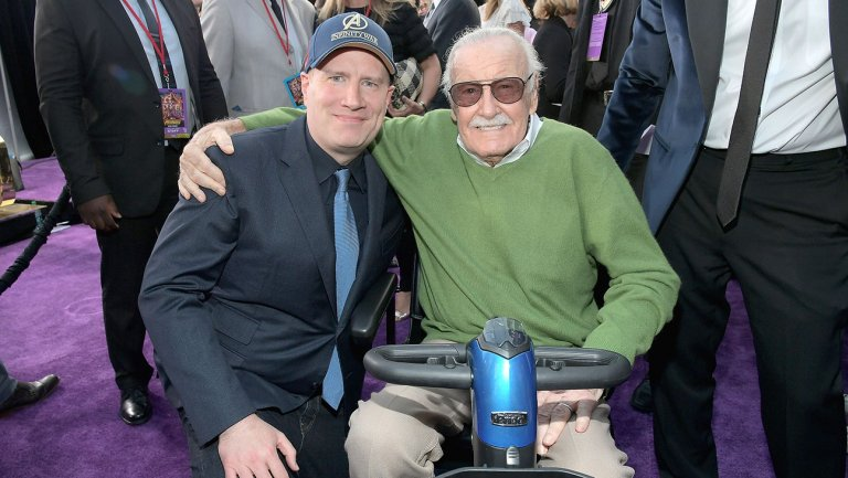 - Kevin Feige, il mega presidente dei Marvel Studios, e una Leggenda.