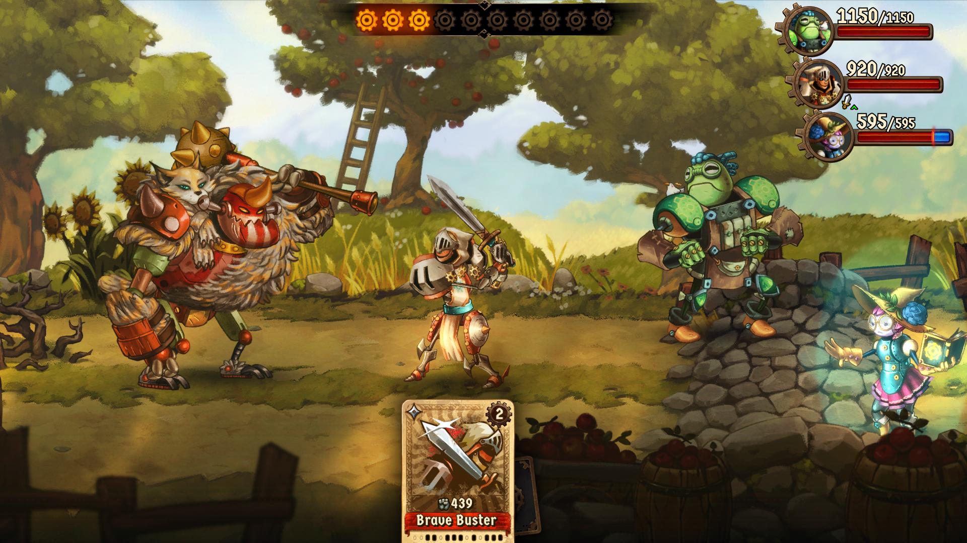 Le prime sessioni di gioco mostrano un gradevole ambiente bucolico.